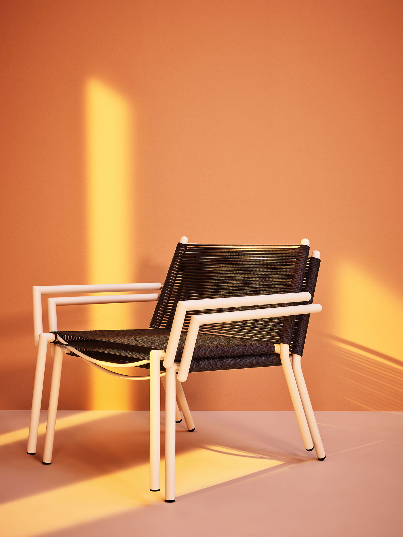 Sedia Lounge Eleven/ Eleven Lounge Chair  - Outdoor Lounge Chair made with tubolar steel