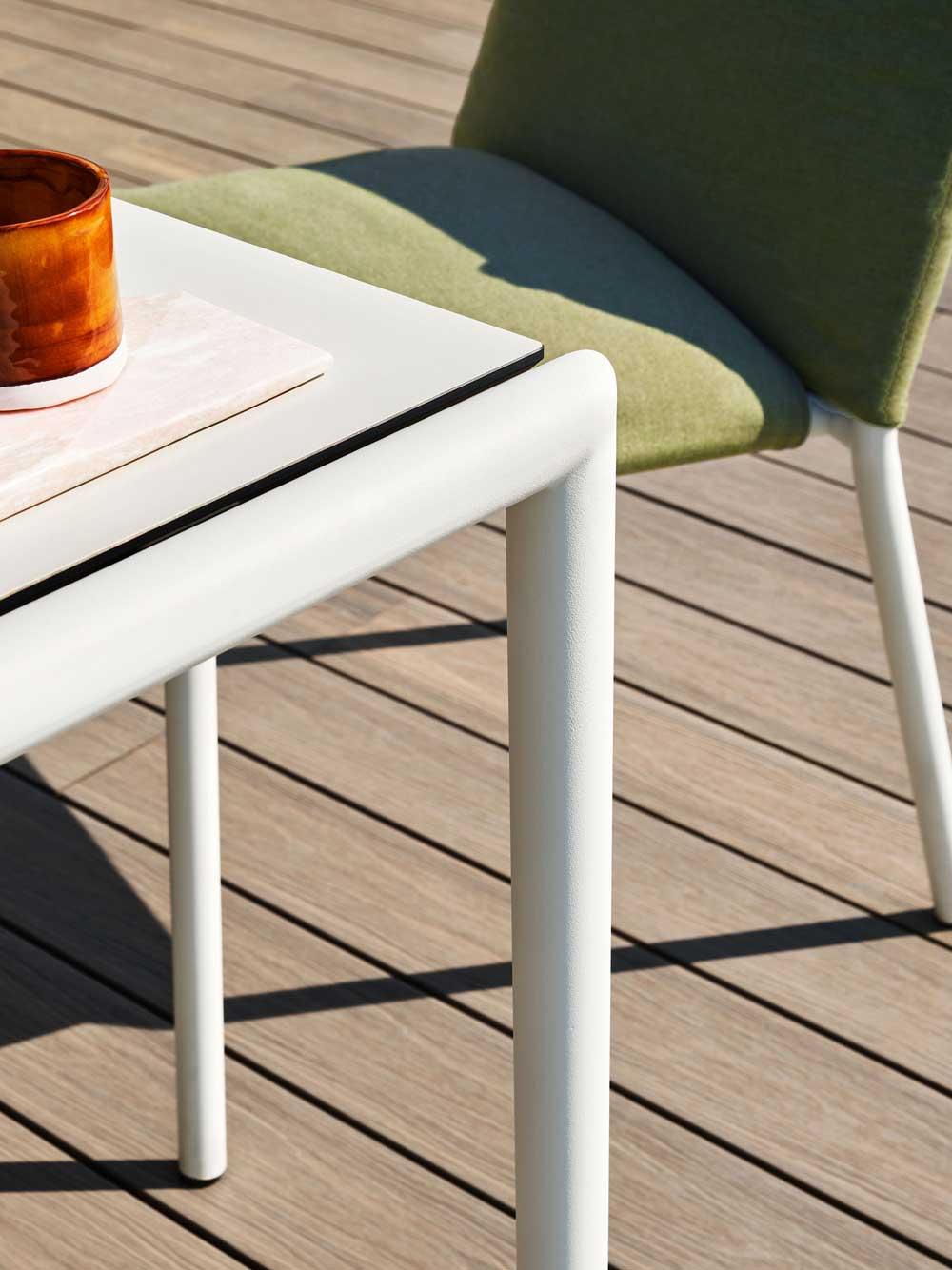 Sedia Eleven/ Eleven Chair - Sedia in acciaio per esterno
